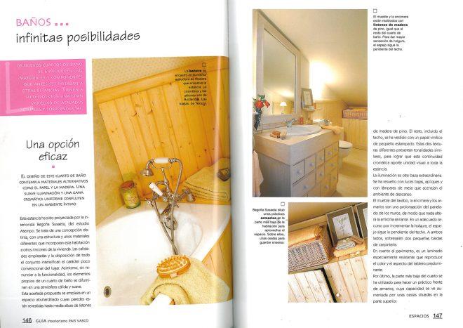 """Proyectos de la decoradora Begoña Susaeta """"Revista Espacios"""""""