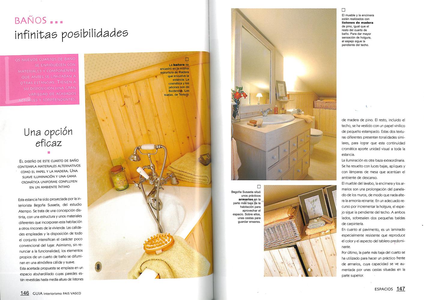 proyectos de la decoradora bego a susaeta revista espacios