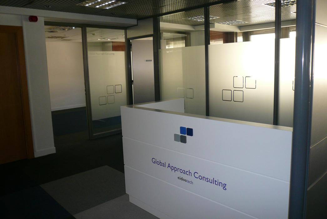 Decoraci n oficinas en bilbao para la empresa eidostech - Oficinas en bilbao ...