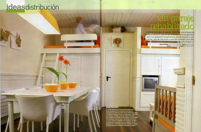 Rehabilitación de un garaje en habitación y comedor (Mi Casa)