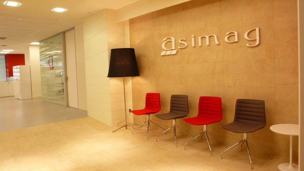 Sube Susaeta Interiorismo www.subeinteriorismo.com diseño y decoración oficinas, recepción, Bilbao