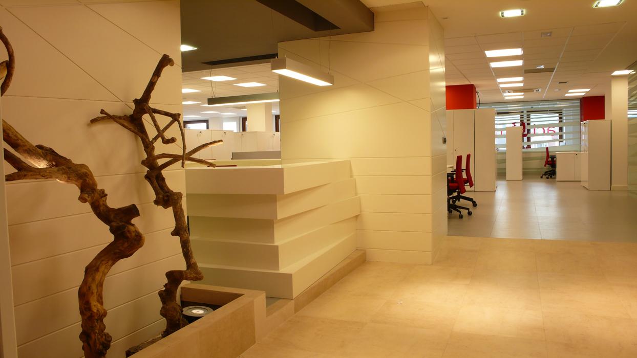 """Decoración oficinas: reforma de oficinas empresa """"Asimag"""""""