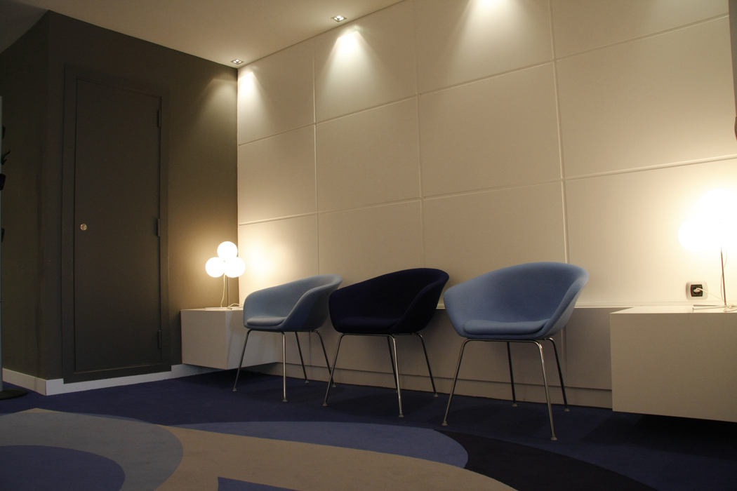 Decoraci n oficinas de la sede corporativa de guascor bilbao sube interiorismo - Sube interiorismo ...