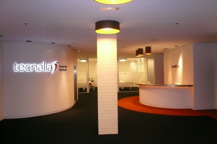 diseño oficinas en Derio Tecnalia SUBE