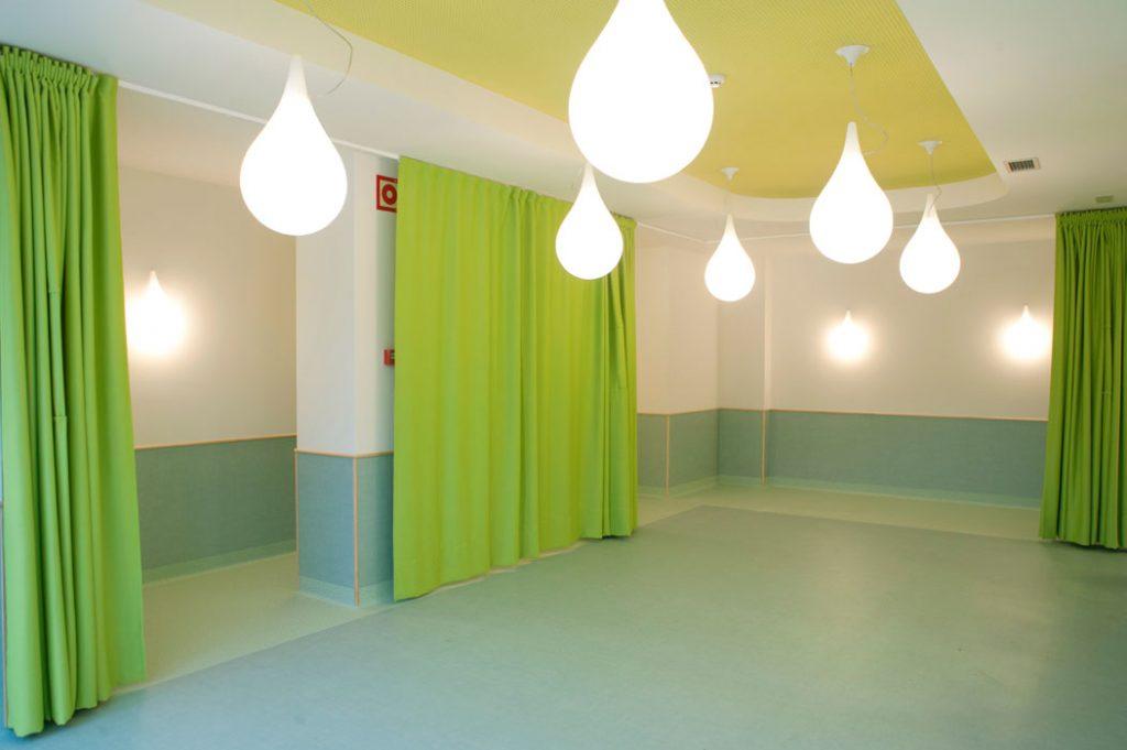 Fotografía interior escuela infantil diseñada por Sube Susaeta Interiorismo