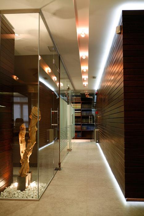 Fotografía decoracion despacho de oficinas de diseño Sube Susaeta Interiorismo
