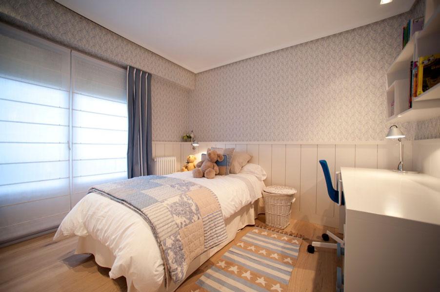 Sube Susaeta Interiorismo www.subeinteriorismo.com realiza la decoracion de vivienda en Bilbao, reforma integral. Diseño interior de dormitorio infantil