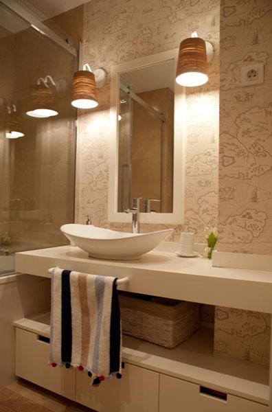 Sube Susaeta Interiorismo www.subeinteriorismo.com realiza la decoracion de vivienda en Bilbao, reforma integral. Diseño interior de baño