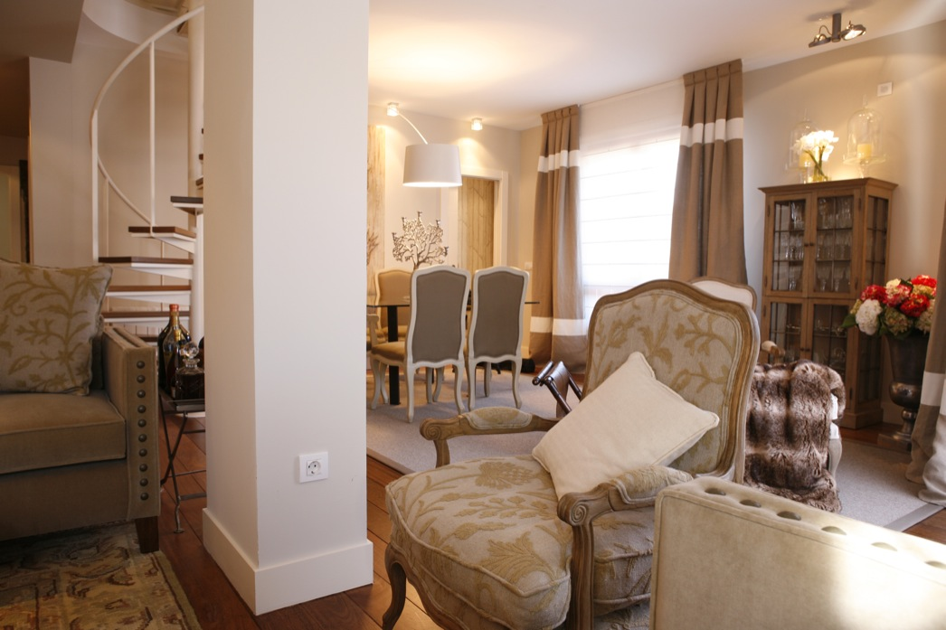 reformas integrales vivienda duplex con terraza en Eibar