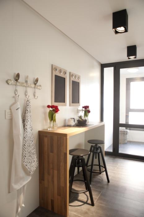Sube Susaeta Interiorismo Sube Contract www.subeinteriorismo.com realiza la reforma de vivienda en Deusto -Bilbao, diseño interior de cocina