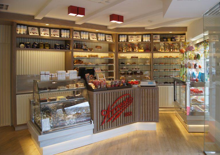 interiorismo comercial pastelerias en bilbao