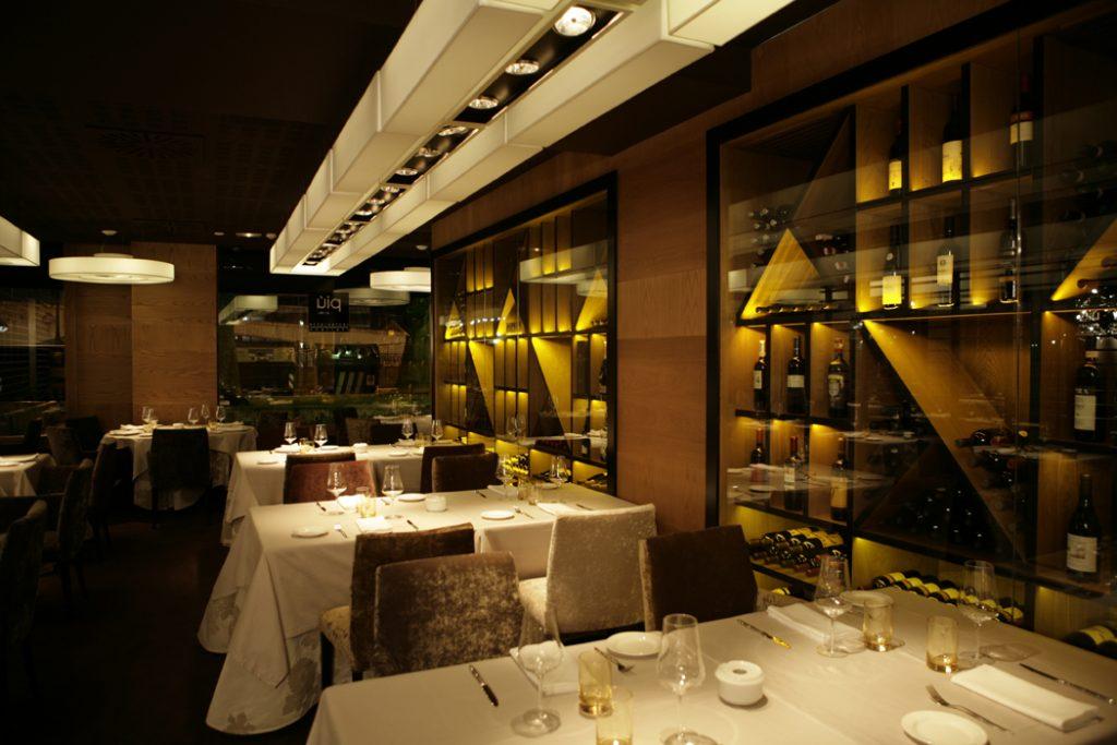 Decoraci n de restaurantes italianos piu di sua bilbao - Interiorismo getxo ...