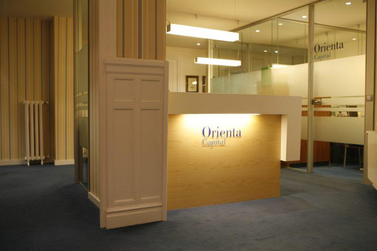 """Decoración oficinas en Bilbao para """"Orienta"""""""