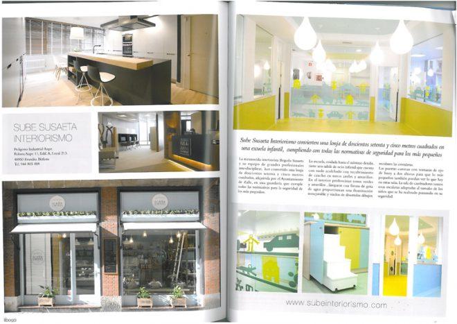 Reportaje En Boga: diseño escuela infantil Haurreskola Zalla