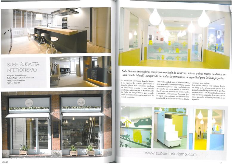 Reportaje En Boga: diseño de escuela infantil Haurreskola Zalla