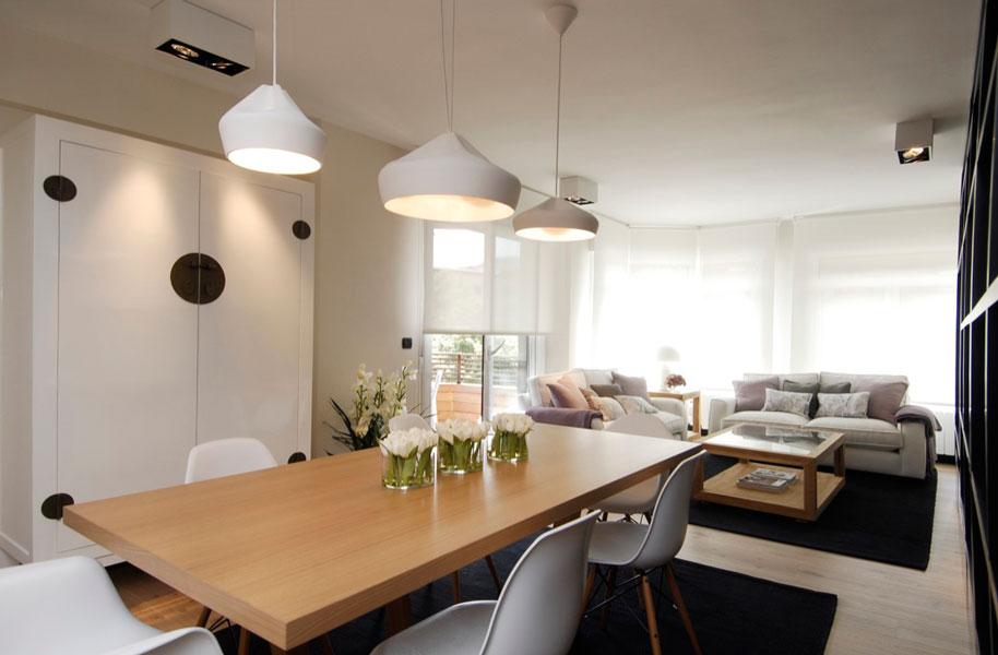 Reforma de vivienda con estilo moderno y sencillo en Araba