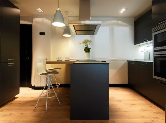 Interior cocina diseñada por SuBe Susaeta Interiorismo Sube Contract Alava