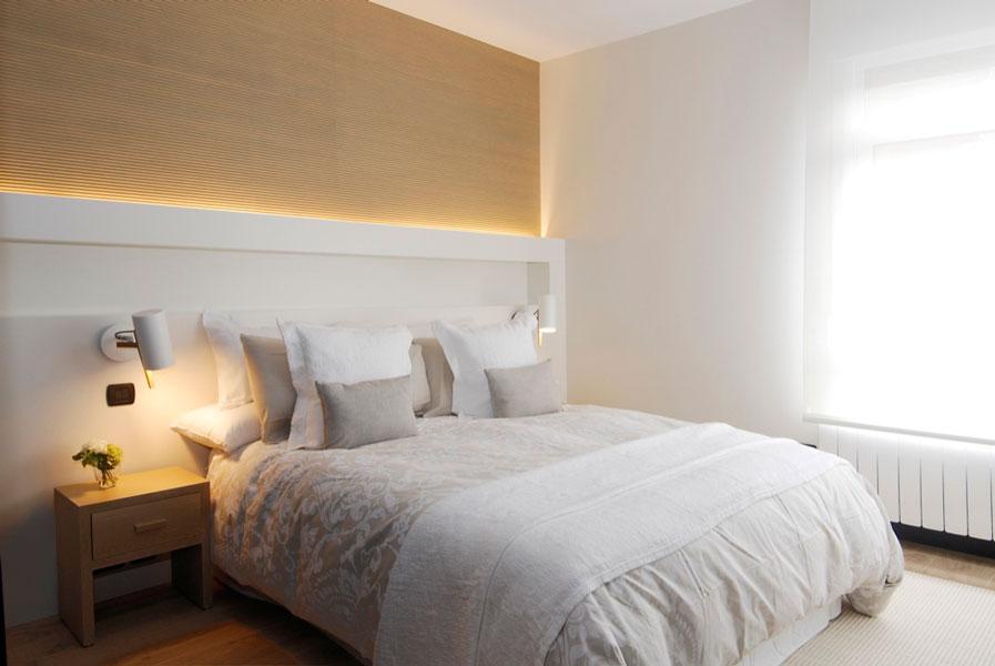 Dormitorio de diseño en reforma de vivienda Araba
