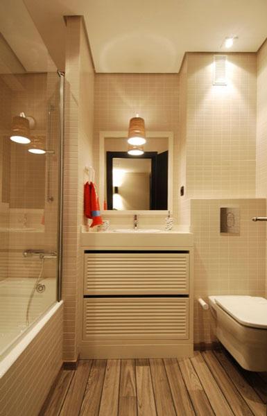Diseño cuarto de baño juvenil con bañera en Araba por SuBe Susaeta Interiorismo Sube Contract