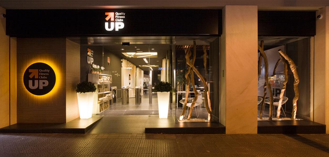 Dise o gimnasio y espacios comunes up quality fitness clubs en bilbao sube interiorismo - Decoracion de gimnasios ...