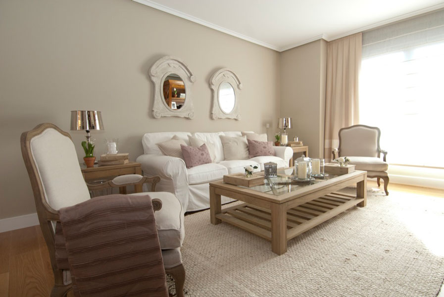 Diseño piso piloto 3 dormitorios para la promotora Inbisa