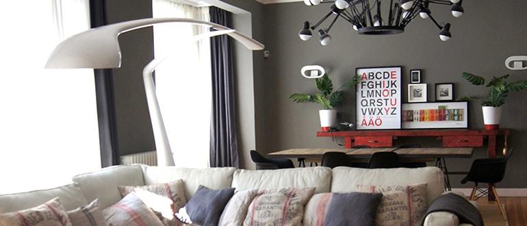 Diseño de interiores: apartamento estilo vintage en Las Arenas