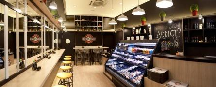 Interiorismo comercial: local de comida japonesa en Bilbao