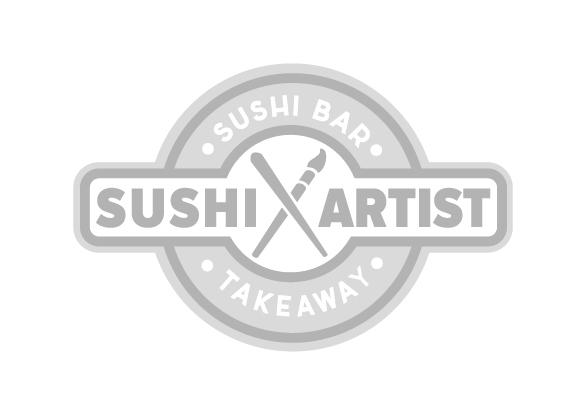 Logotipo Sushi artist