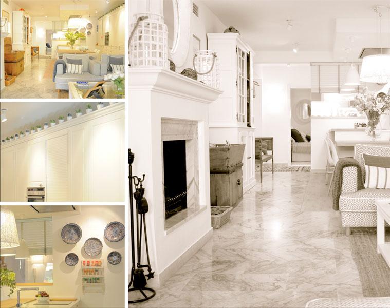 Diseño interior vivienda de verano Guadalmina - Marbella (Málaga), por Sube Susaeta Interiorismo
