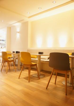 Sube Susaeta Interiorismo www.subeinteriorismo.com realiza la decoracion de bar Glass Grill Urbano. Reforma de local de hostelería en Getxo