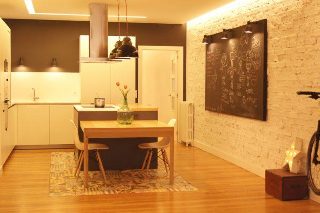 Diseño de casa vintage de SUBE en Decoesfera y Marzua