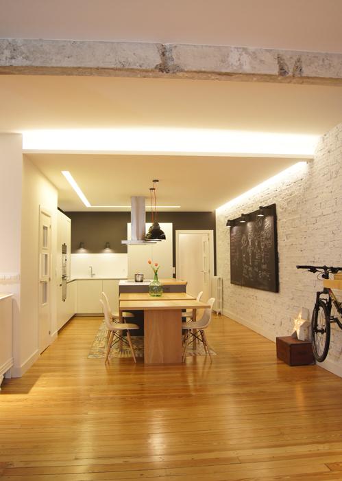 Dise o de interiores casa vintage en bilbao sube - Diseno de interiores bilbao ...
