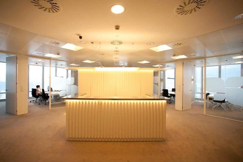 Diseño de oficinas llave en mano empresa familiar en Bilbao