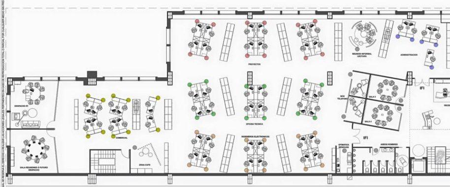 diseño de oficinas en Basauri SUBE Interiorismo