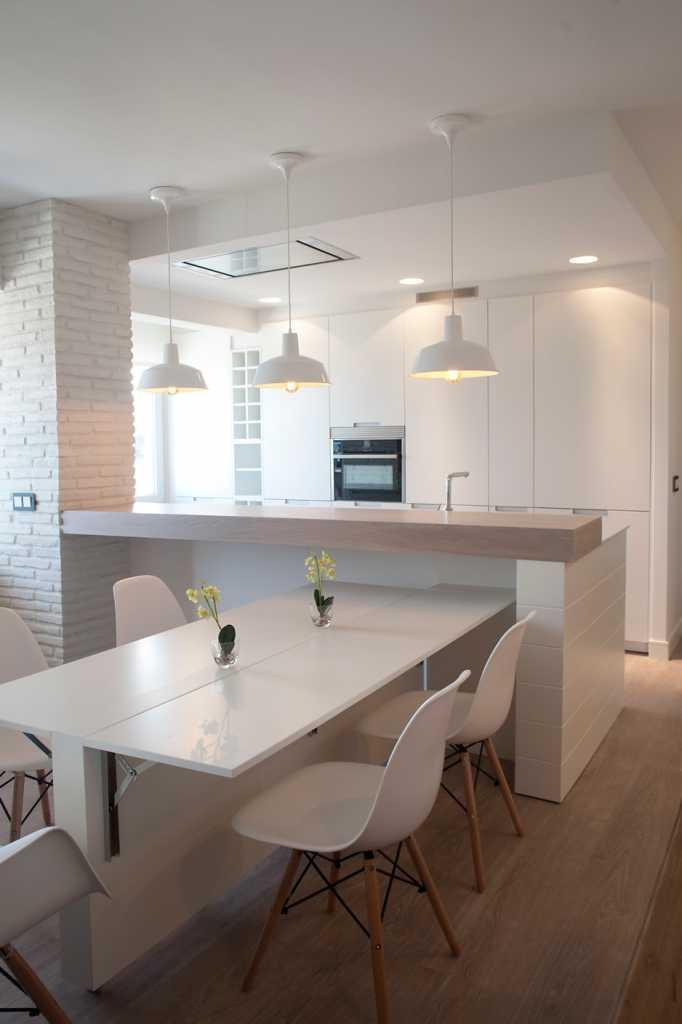 Sube Interiorismo Bilbao reforma integral de vivienda Lekeitio