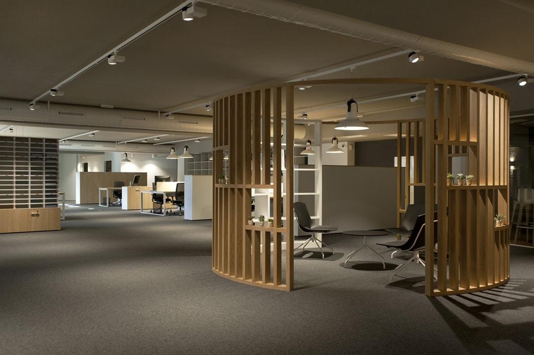 Sube Interiorismo Bilbao diseño interior de oficinas en Basauri, Bizkaia