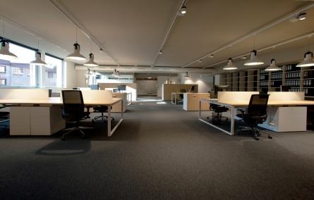 Sube Interiorismo diseño de oficinas Bilbao