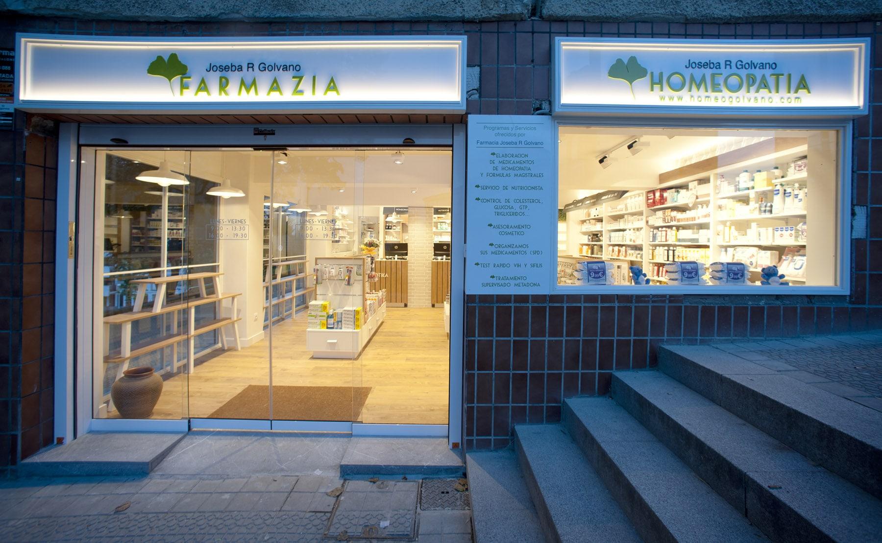 Dise O Integral De Farmacia En Bilbao Por Sube