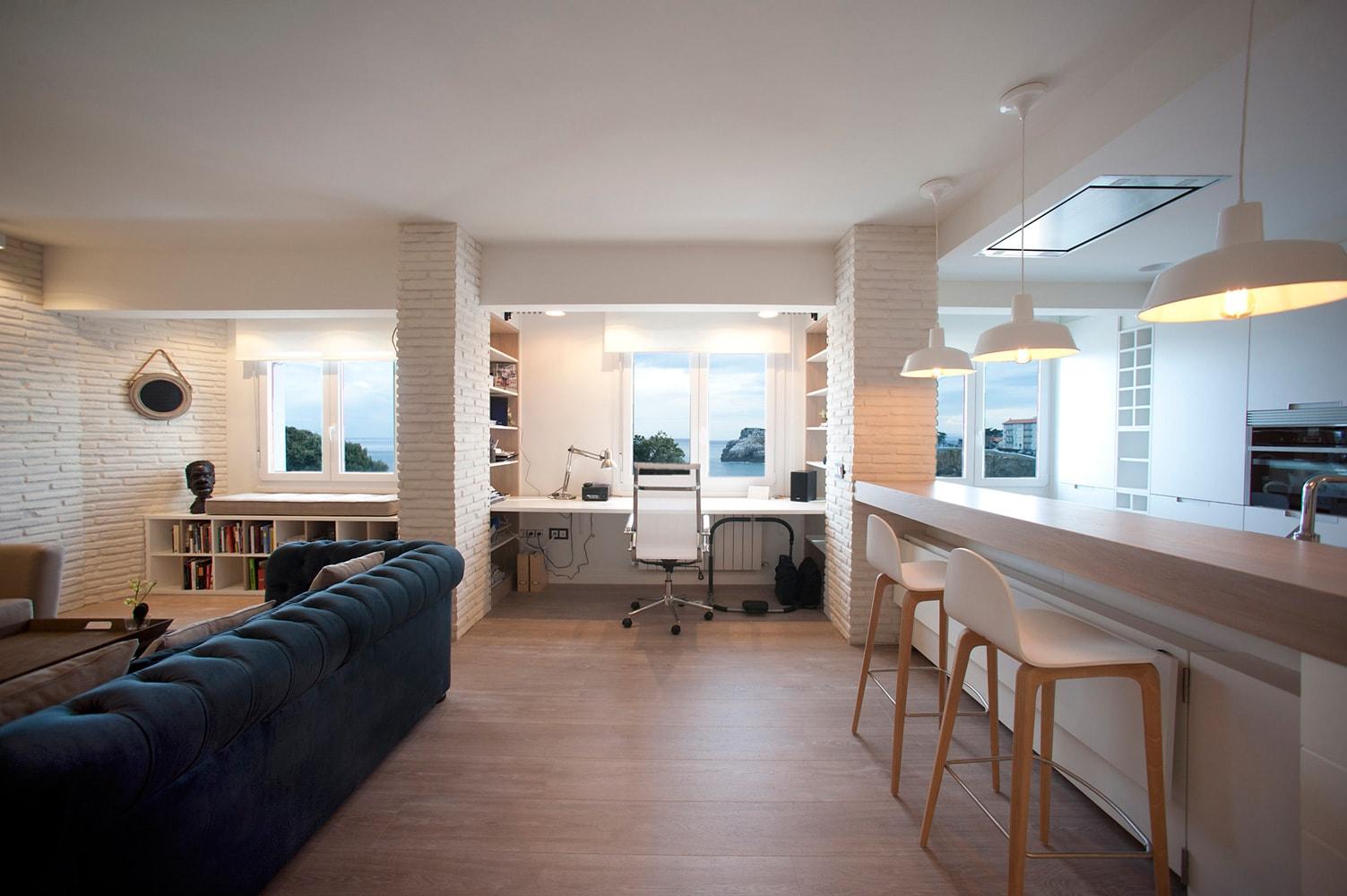 Sube Interiorismo Bilbao reforma integral de vivienda