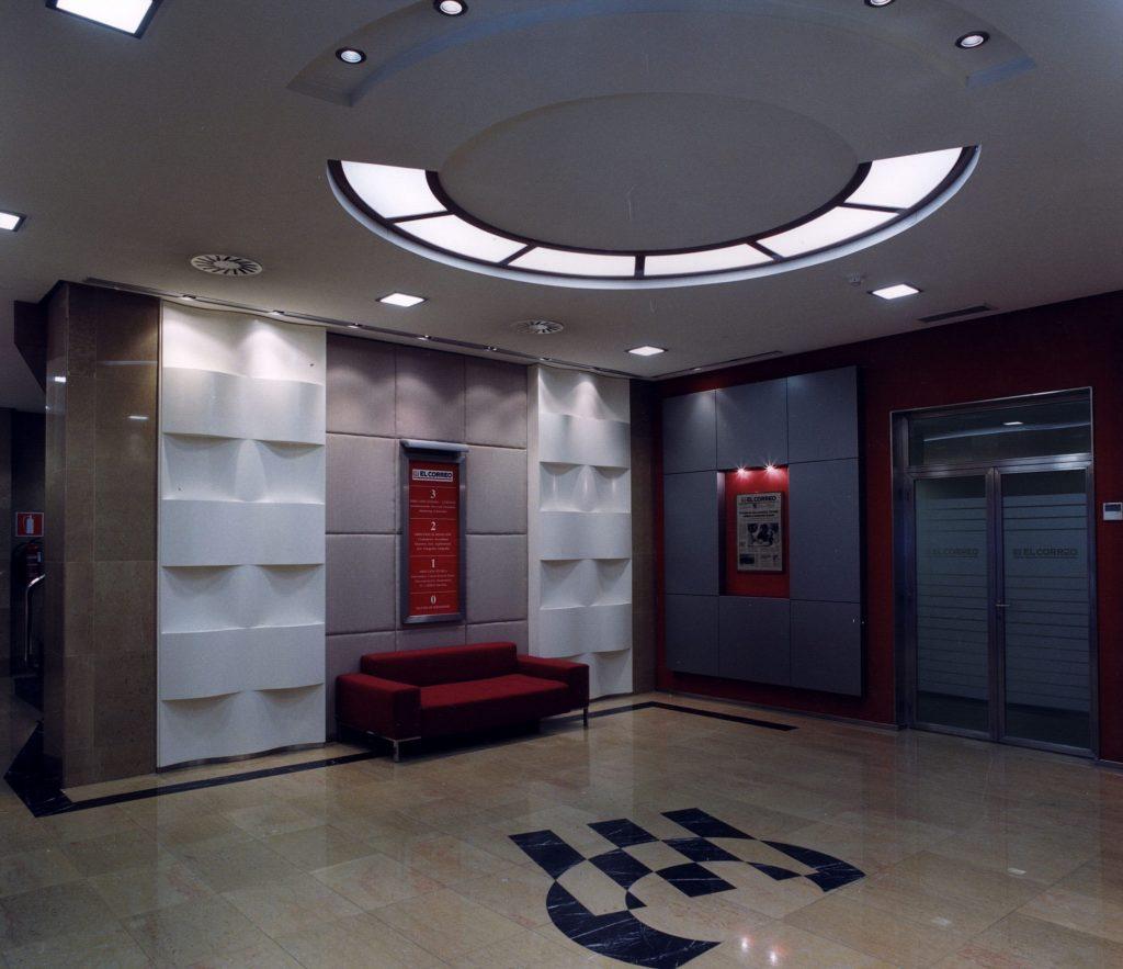 Proyecto de diseño interior para oficinas en Bilbao, por Begoña Susaeta