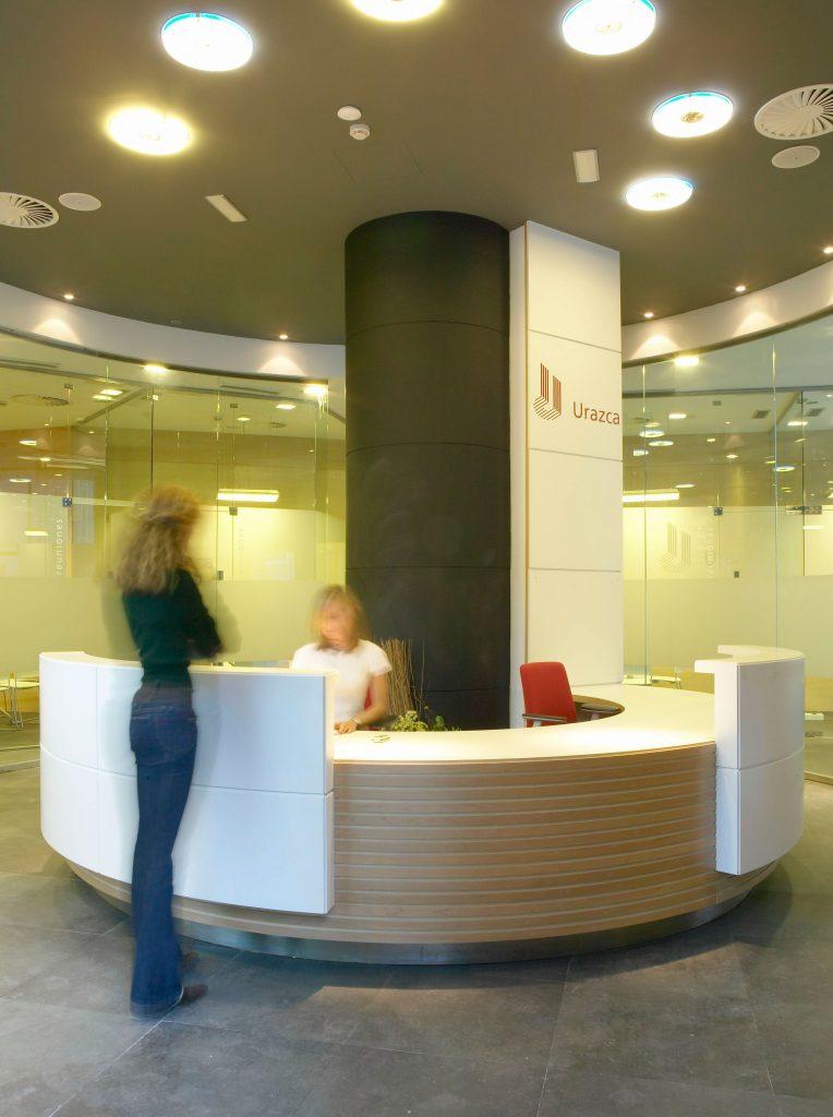 Proyecto de diseño interior de oficinas en Bilbao, por Begoña Susaeta