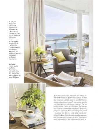Reforma realizada por Sube Interiorismo, en la revista El Mueble, n 672, junio 2018