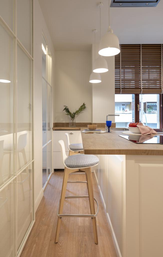 Diseño interior de cocina, por Sube Interiorismo, Bilbao