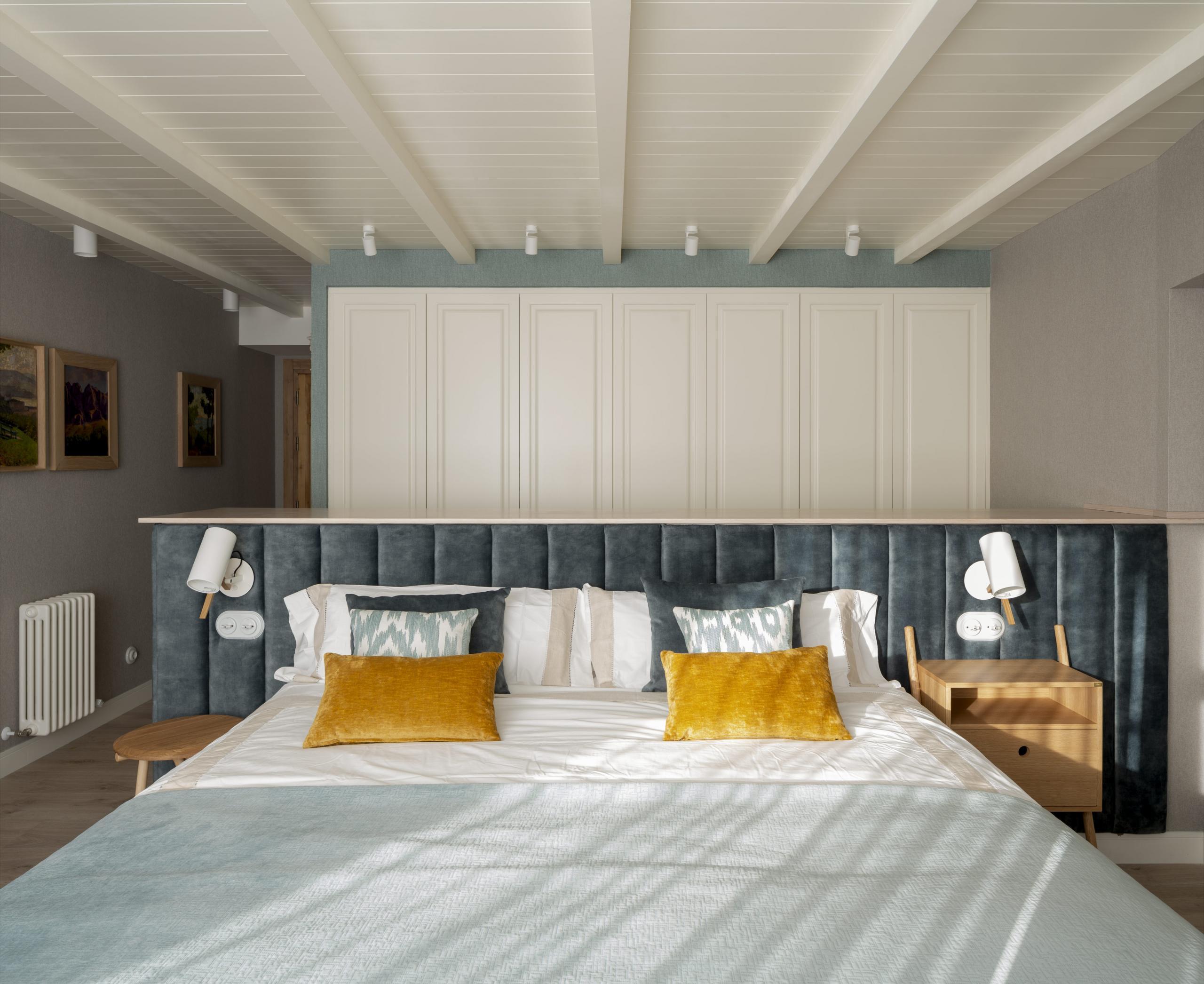 Decoración de dormitorio principal