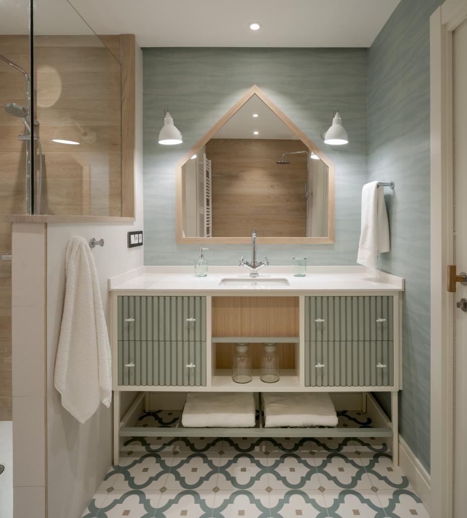 Decoracion de baño infantil, Sube Interiorismo