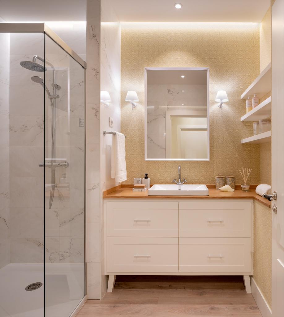 Diseño cuarto de baño principal