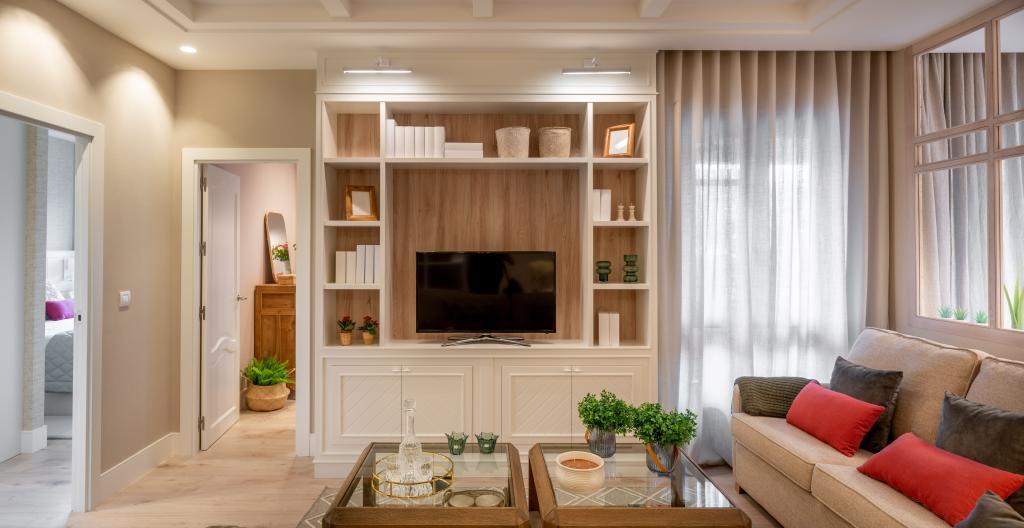 Diseño interior de salón