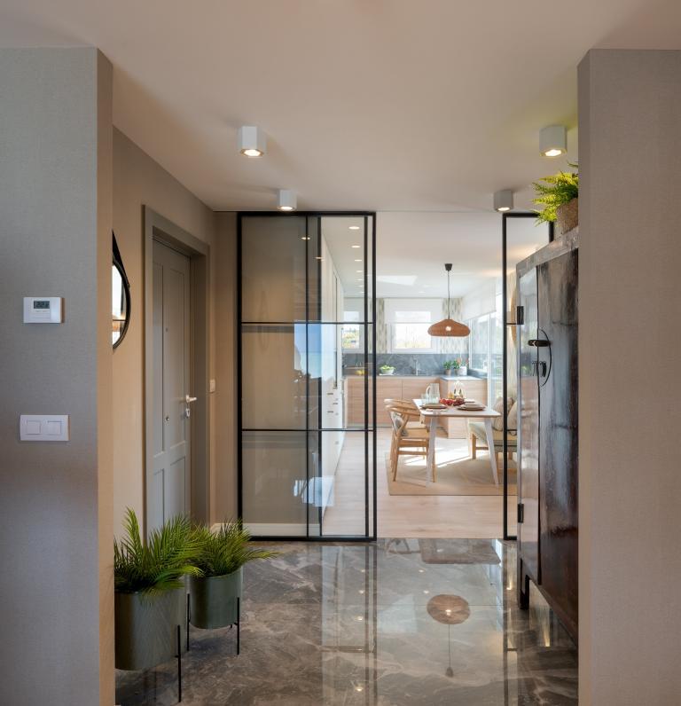 Diseño de hall de entrada